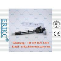China ERIKC 0445110318 Bosch diesel engine Jet injection  0 445 110 318 bico complete body injector 0445 110 318 on sale
