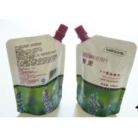 Colorful Printing Liquid Spout Bags , Customized Stand Up Pouch With Spout for sale