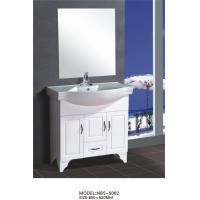 Wholesale 80 X48X85/cm PVC bathroom cabinet / bathroom vanity / with mirror for bathroom from china suppliers