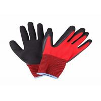 Lightweight Nitrile Coated Work Gloves Knitted Wrist For Industrial Working for sale