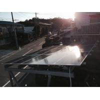 Quality No Penetration Solar Carport Mounting System , Solar Panel Racking System for sale