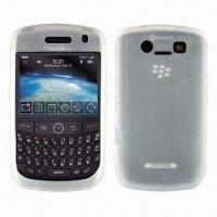 Wholesale Silicone Skin Mobile Phone Cases for BlackBerry 8900, Anti-dust Coating and Anti-static from china suppliers