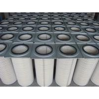 Wholesale Cement Industry Industrial Air Filter Cartridges / Pleated Filter Bags Dust Collectors from china suppliers