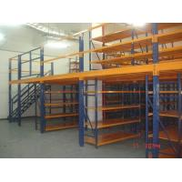 Best Removable Attic Mezzanine Racking System Cold Roll Steel Without Any Nuts / Bolts / Tools wholesale