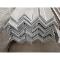 China 201 Pickled Stainless Steel Angle Bar Brackets Unequal ASTM A479 for industry use on sale