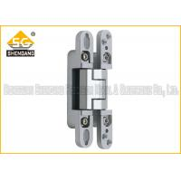 Wholesale 180 degree three way adjustable concealed interior door hinge from china suppliers