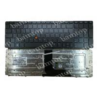Wholesale HP 8560W German Laptop Keyboard , Notebook Keyboard Layout With Point Stick Numeric from china suppliers