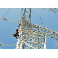 China Transmission Power Line Tower , Angle Steel Member Lattice Steel Towers for sale