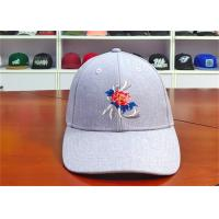 Wholesale ACE Creative Flat Rose Embroidery Logo Custom Baseball Cap Leather Buckle Baseball Cap from china suppliers