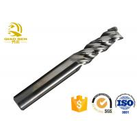 China Durable Carbide CNC End Mill Cutter Standard Ceramic Graphite HRC70 High Speed on sale