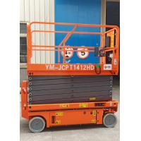 Wholesale 11.8m Hydraulic Scissor Lift Extendable Platform With Pothole Guarding from china suppliers