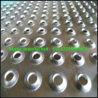 Wholesale Dimpled perforated metal sheet /extruded perforated metals from china suppliers
