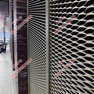 Wholesale aluminum sheet curtain wall design/aluminium expanded metal mesh curtain wall from china suppliers