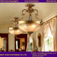 Antique brass ceiling lamp for room & classic ceiling lamp For AGENT