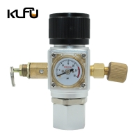 Wholesale Inlet CGA320 / W21.8 Corrosion Resistance 150PSI Sodastream Co2 Regulator from china suppliers