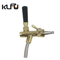 Wholesale Connector G5/8 Double Pass Stainless Steel Beer Tap from china suppliers