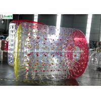 Wholesale Adults / Children Human Zorb Ball , Clear Water Zorb Ball Hand Painting from china suppliers