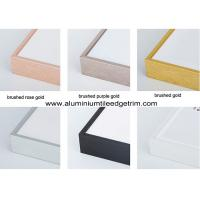 Wholesale Colored Metal Picture Frame Mouldings In Lengths For Canvas / Oil Painting from china suppliers