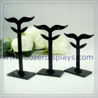Wholesale Acrylic Earring Display Stand Jewelry Display Stands With OEM Pattern from china suppliers