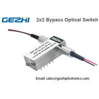 China 2x2B Opto - Mechanical Fiber Optical Switches Optical Bypass Switch on sale