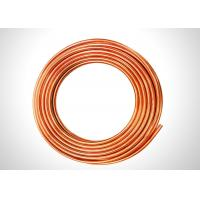 3 8 Copper Refrigeration Tubing  For Water Line 0.4-1.20mm Thickness Custom Lenght