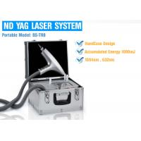 China Pigment Removal Q Switched ND YAG Laser Machine High Mobility For Easy Carrying on sale