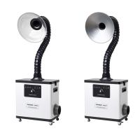 Buy cheap Metal body White table top fume extractor for beauty salon fume & moxibustion from wholesalers