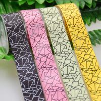 China 25 MM Custom One Color Ink Screen Printing Ribbon For Gifts Wrapping for sale