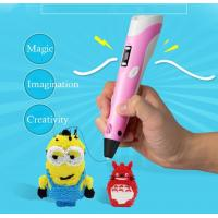 China 1.75mm ABS/PLA 3D Free Filament For Kids Christmas,3D Printing Pen Smart 3D Drawing Pen on sale