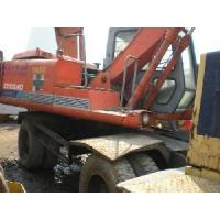 Wholesale Hitachi EX100WD Used Wheel Excavator from china suppliers