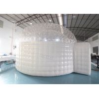 Wholesale Airtight Portable Inflatable Igloo Marquee, Half Transparent Inflatable Igloo Dome from china suppliers