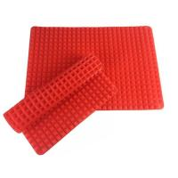 Flexible Silicone Pyramid Baking Mat , Non Stick Silicone Baking Mat For Healthy Cooking