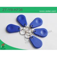 Buy cheap ABS key tag/keyfob/keyring,Model:ZT-YB-KF36,45.5×30×8mm from wholesalers
