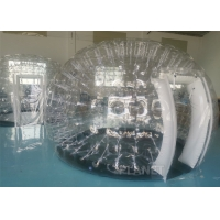 Wholesale Camping Clear 0.7mm PVC Inflatable Dome Tent With Doors from china suppliers