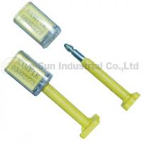Best Plastic Bolt Container Security Seals For Truck , High Security Bolt Seal wholesale