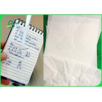 China Coated Waterproof Tear Resistant Paper 120gsm 144gsm 168gsm 192gsm Anti Tear BM paper on sale