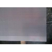 Wholesale 1.0 Millimeter Micro Hole Steel Perforated Metal Sheet for Acoustic Wall Panels from china suppliers