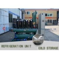 Ice Cooling Freezer Cold Room America Copeland Compressor Condensing Unit 100MM Panel for sale