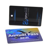 TK4100 RFID Smart Membership Card , Contactless Chip Card For Time Attendance for sale