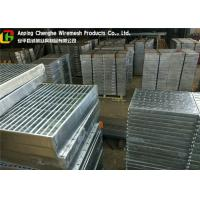 Wholesale Custom Vehicuar Galvanised Steel Grating 10 - 300mm Height ISO9001 Certification from china suppliers