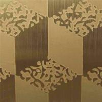 China Etched Stainless Steel Decorative Sheet on sale
