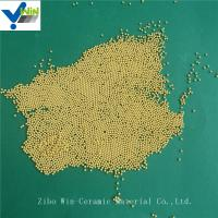 Wholesale High polishing golden cerium zirconia grinding media for basket mill from china suppliers