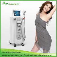 Quality Permanent painless 808nm diode vertical laser hair removal machine for sale