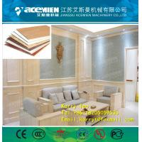 China WPC Waterproof Eco-Friendly Texture Interior Decorative Wall Panels production line on sale
