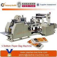 China CY400 Sharp Bottom Food Bread Grocery Paper Bag Making Machine for sale