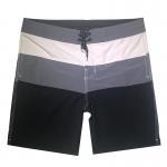 China Plain Surf Custom Beach Shorts , Drawstring Beach Shorts Drying Splash Proof for sale
