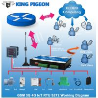 Wholesale KP Gsm sms rtu controller GPRS modbus data logger with 3g module S272 from china suppliers