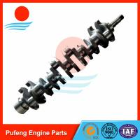 Wholesale Daewoo crankshaft supplier, hardening crankshaft DB58T for excavator DH150 DH130 DH225-7 DH220-5 from china suppliers