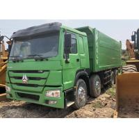 Wholesale HOWO 375 Howo 8x4 Dump Truck Used , 2nd Hand Tipper Trucks 280 - 380hp Horsepower from china suppliers