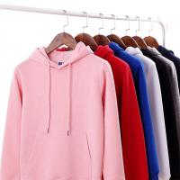 China Wholesale Custumized Embroidered Custom Hoodies plain thick pullover hoodie unisex for sale